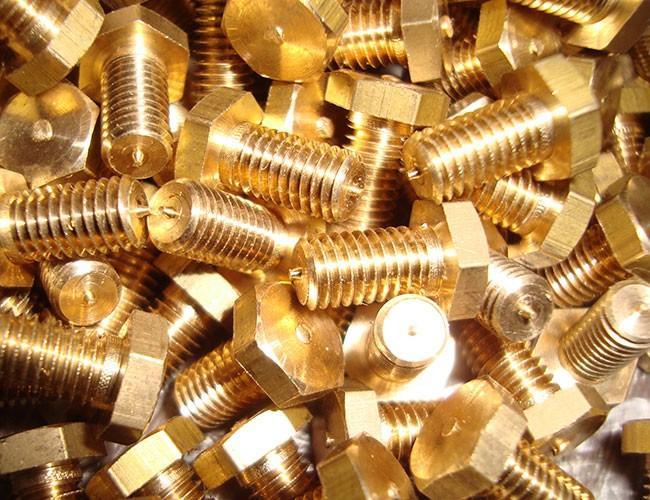 Медно-цинковый сплав золотистого оттенка