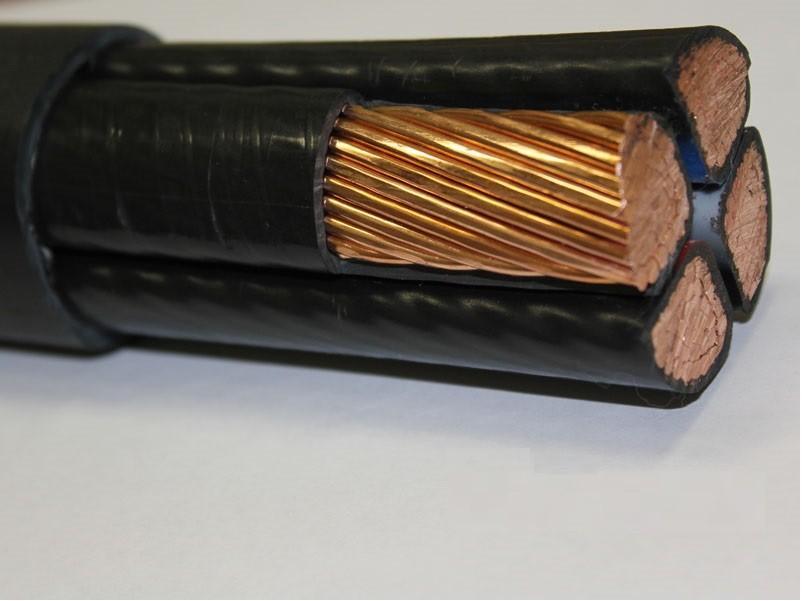 Медный силовой кабель с ПВХ изоляцией в ПВХ оболочке