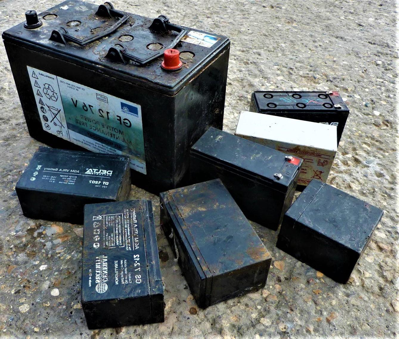 Аккумуляторные блоки